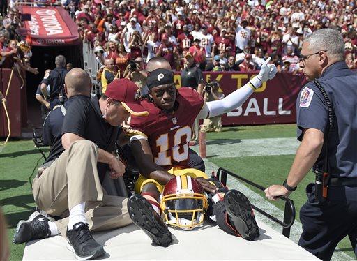 Redskins Optimistic RG3 Returns This Season