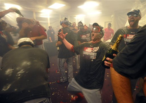 Nats Beat Braves to Clinch NL East Title