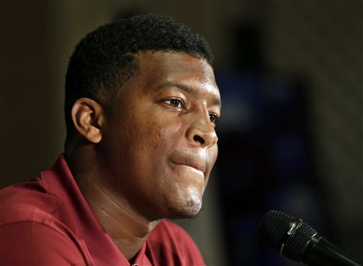 FSU Benches Jameis Winston for 1st Half of Clemson Game