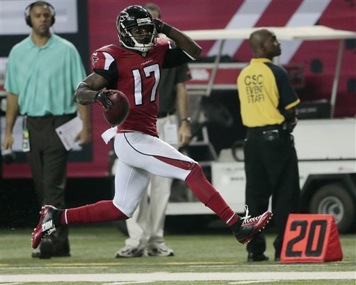 Falcons Romp to 56-14 Win over Hapless Buccaneers