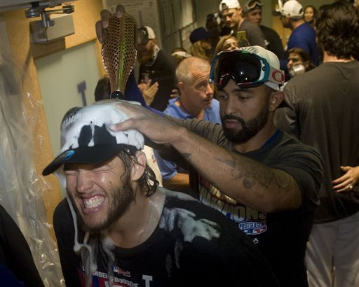 Kershaw, Dodgers Win NL West Title over Giants