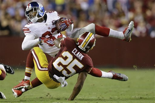 Giants Rout Redskins