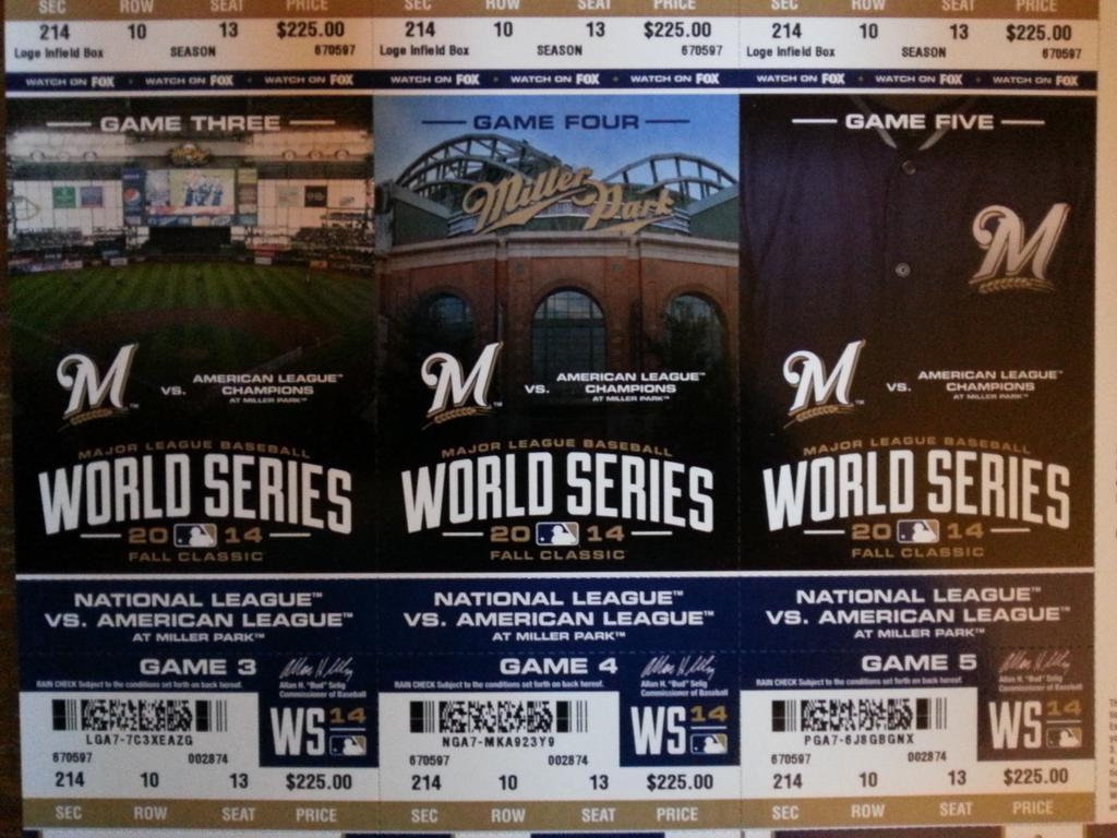 Fans Receive Brewers Playoff Tickets on Day Team Eliminated