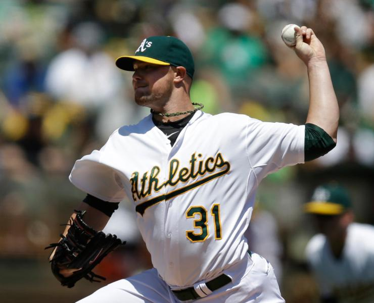 Sans Cespedes Oakland Looks to Lester to Flush Royals