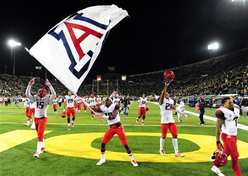Arizona Upsets No. 2 Oregon Again, 31-24