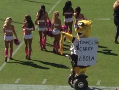 Jaguars Mascot Ripped for Ebola Joke