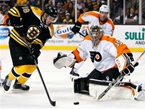 Bruins Beat Flyers 2-1 in Season Opener