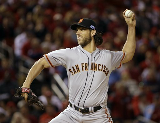 Bumgarner Tames Cardinals, Giants Take NLCS Lead