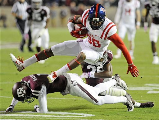 No. 3 Ole Miss Gets 35-20 Win over No. 14 A&M