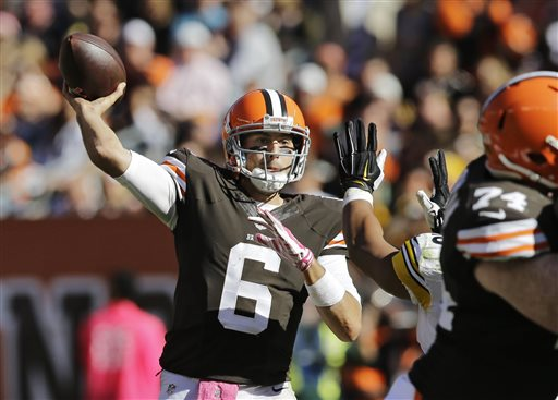 Brian Hoyer Leads Browns to 31-10 Rout of Steelers