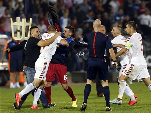 Serbia Accuses Albania of Provocation after Brawl