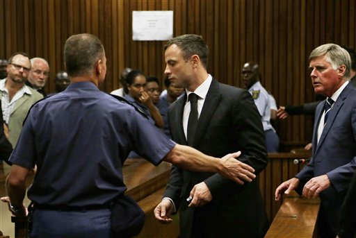 Oscar Pistorius Starts Serving 5-Year Prison Term