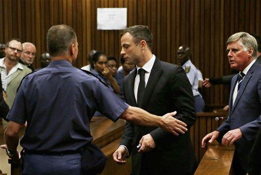 Oscar Pistorius Starts Serving 5-Year Prison Term