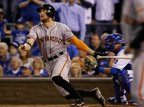 Bumgarner, Giants Stop Royals 7-1 in World Series Opener