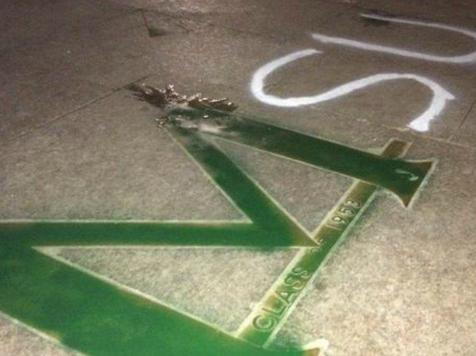 Block 'M' on Michigan Campus Painted Green in MSU Rivalry Vandalism