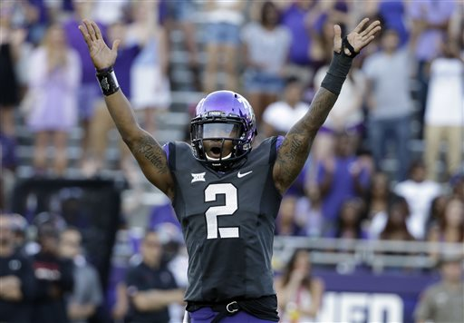 No. 10 TCU Gets Record-setting 82-27 Rout of Texas Tech