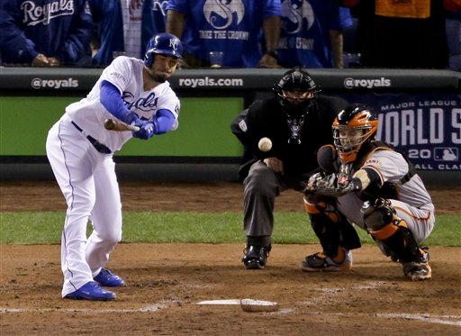 Royals Rout Giants 10-0 to Force Game 7 in World Series