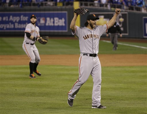 Madison Bumgarner Wins World Series MVP