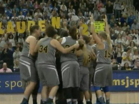 Lauren Hill Defies Brain Tumor to Fulfill Basketball Dream