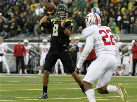 Oregon Moves into Top 4 of CFB Playoff Rankings