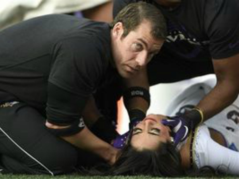 Ravens Cheerleader Injury Underscores It's Safer on the Field Than Above It
