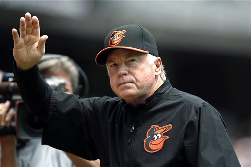 Beltway Double Play: Showalter, Williams Managers of the Year