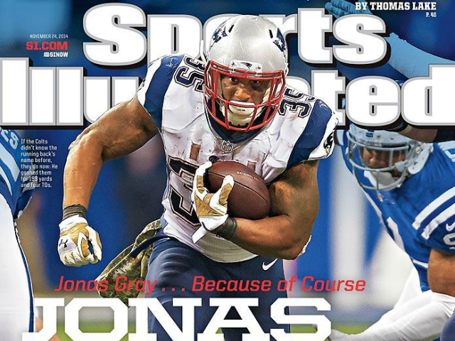 The Return of the Running Back: Jonas Gray Powers Way onto Sports Illustrated Cover