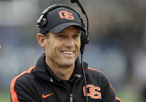 Nebraska Hires Oregon State's Mike Riley