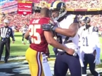 Rams Taunt Redskins by Sending Players Acquired from RGIII Trade out for Coin Toss