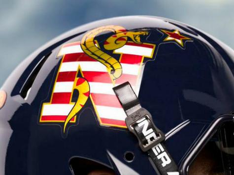 Navy Models New Snake Helmet Design on 'Don't Tread On Me' Flag