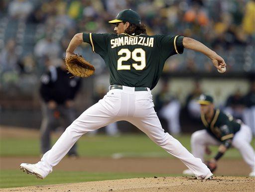 A's Trade Pitcher Jeff Samardzija to White Sox