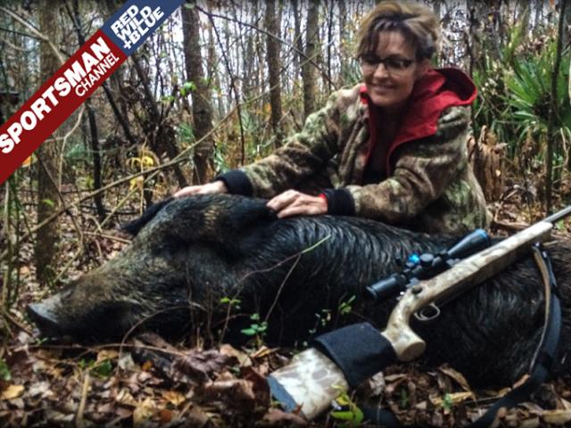 Sarah Palin Shoots and Scores Big Time in Texas