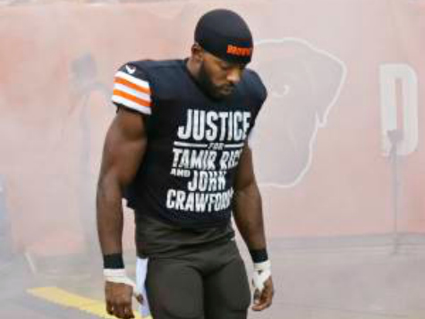 Cleveland Browns Won't Apologize to Police for Andrew Hawkins' 'Justice' Shirt