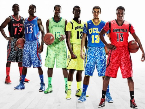 UCLA, Louisville, Baylor to Wear Sleeved Jerseys in NCAA Tourney