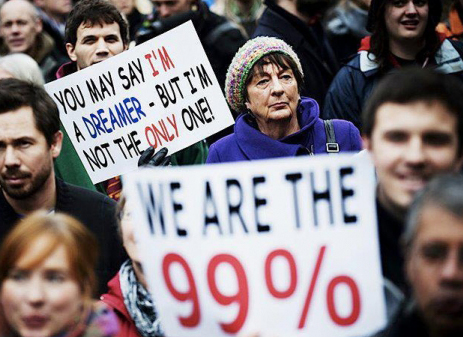 The 1% To The Rescue: Corporate Money Moves To Fund Occupy Wall Street