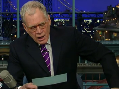 Letterman: Top 10 Things Romney Loves About MI Trees