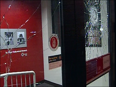Occupy Portland Thugs Shatter Bank Windows