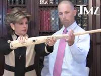 FLASHBACK: Gloria Allred Simulates Sex With Baseball Bat