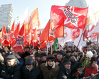Russians Rally Against Putin In Moscow