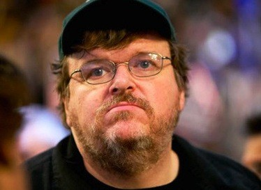 Michael Moore Heckled At Occupy Rally