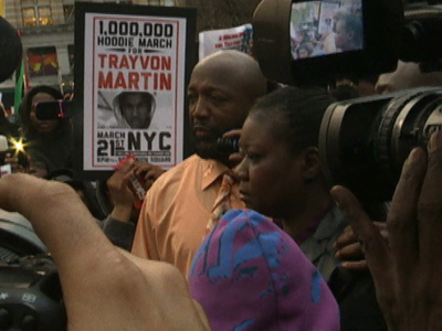 NYC Hoodie March For Trayvon Martin