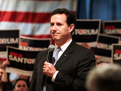 Santorum's 'Big Easy' Win