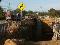 Freak Accident In Georgia Buries Man In Mud