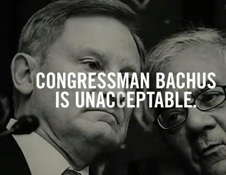 New Ad Targets Bachus' Congressional Insider Trading Allegations