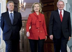 Secretary Clinton Meets With Northern Ireland Leaders