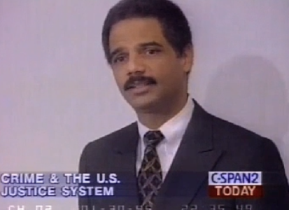 Holder 1995: We Must 'Brainwash' People Against Guns