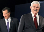 Newt: 'Inevitable' Mitt Romney 'Just Collapsed'