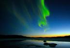 Solar Storm Fuels Northern Lights