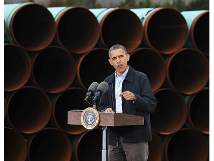 Obama: We Have Too Much Oil, Not Enough Pipeline