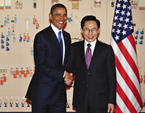 Obama Meets With South Korea